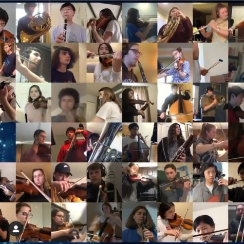 TRYPO (Three Rivers Young Peoples Orchestra) students hold a virtual concert during quarantine. (TRYPO/Instagram)